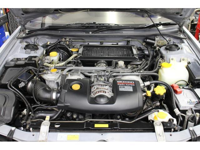 水平対向4気筒DOHCターボエンジン「EJ20G」!