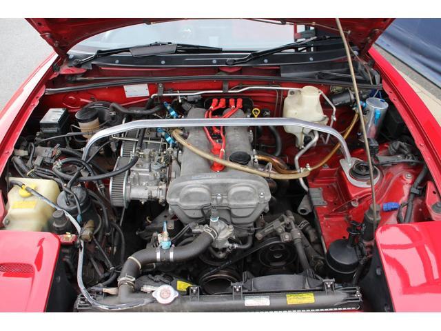 タイミングベルト交換済み!1600ccNAエンジンを搭載しております。軽量で軽快なドライブをお楽しみいただけます。