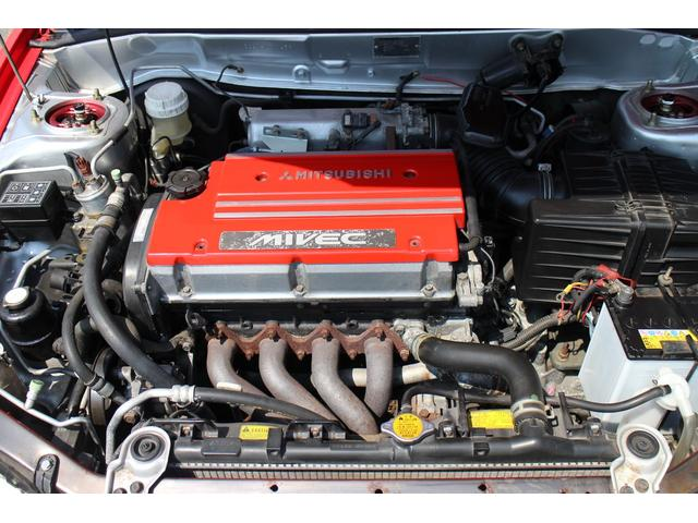 1.6L・DOHCはMIVECエンジンを搭載して175PSへパワーUP!ホンダVTECに対抗した三菱自動車が作った可変バルブタイミングリフト機構です。可変バルブタイミングリフトを使用☆