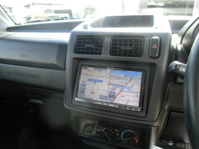 三菱 パジェロミニ スペシャルカラーエディション XR4WDフルセグナビ