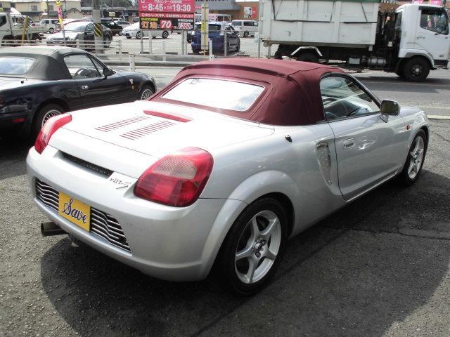 トヨタ MR-S Sエディション 車高調 社外マフラー 布幌 NEOVA