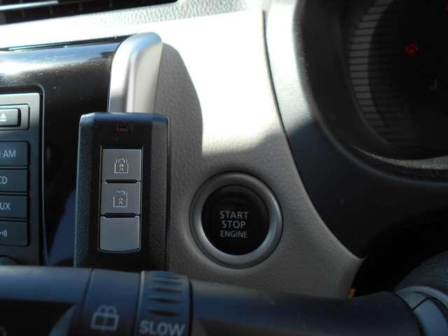 ☆プッシュエンジンスターターは、今や主流!更に、エンジンイモビライザーにより、車両の盗難防止機能も高めています☆