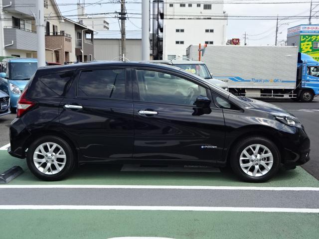 日産 ノート e-パワー X 弊社元試乗車 レーダーブレーキ