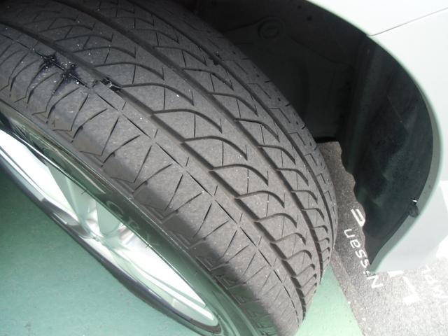 タイヤの溝もぼちぼちでしょうか