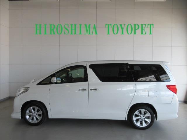 トヨタ アルファード 240G HID エアロ パワーシート