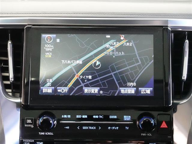 SR サンルーフ 4WD フルセグ メモリーナビ DVD再生 後席モニター バックカメラ ETC ドラレコ 両側電動スライド LEDヘッドランプ 乗車定員7人 3列シート ワンオーナー(8枚目)