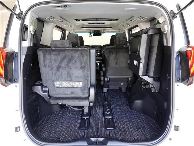 SR サンルーフ 4WD フルセグ メモリーナビ DVD再生 後席モニター バックカメラ ETC ドラレコ 両側電動スライド LEDヘッドランプ 乗車定員7人 3列シート ワンオーナー(16枚目)