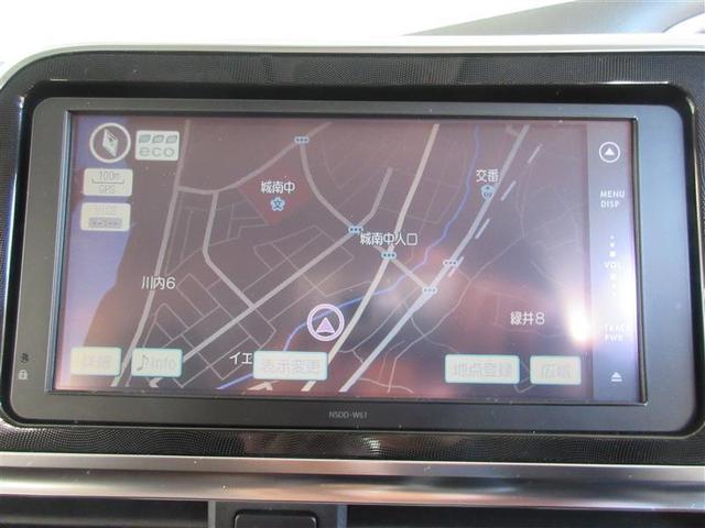 純正のSDナビゲーションを装備しております。ワンセグTVを視聴可能です。
