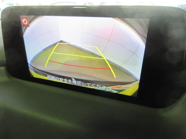 バックカメラ付きで後方視界の補助になります。