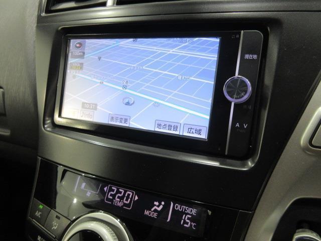S フルセグ メモリーナビ DVD再生 バックカメラ ETC 乗車定員7人 3列シート ワンオーナー アイドリングストップ(8枚目)