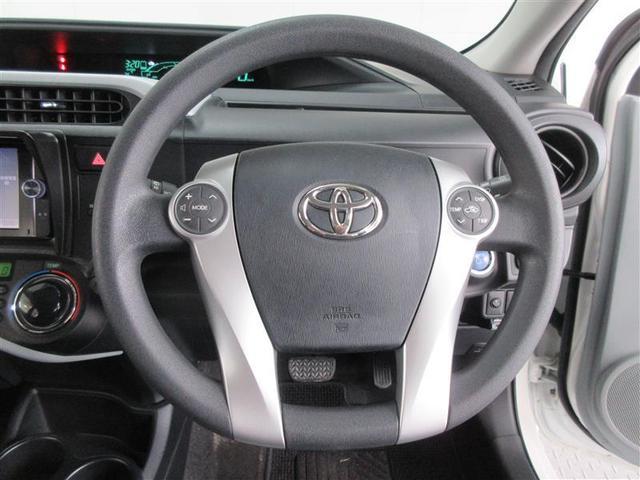 ステアリングスイッチ付きで運転中でも安心です。