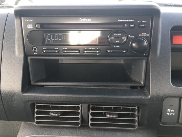ホンダ アクティトラック アタック 4WD 5F ワンオーナー CD AUX キーレス