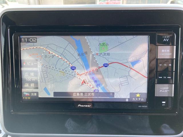 ハイブリッドGS 4WD 左側電動スライドドア TVナビ バックカメラ Bluetooth接続可 スマートキー プッシュスタート コーナーセンサー ワンオーナー(3枚目)