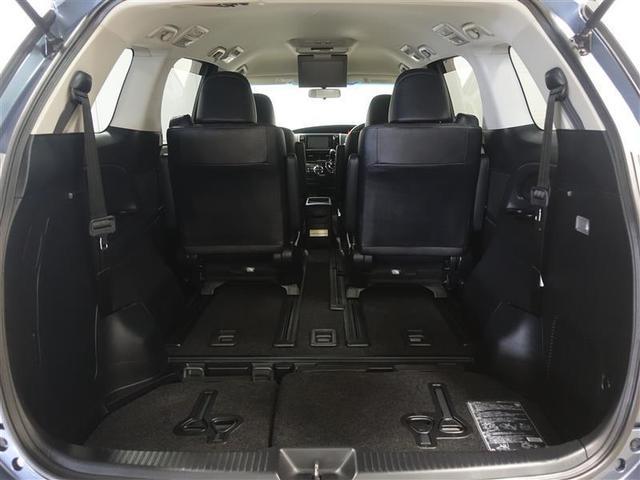 サードシートを収納する事で大きな荷物も搭載出来ます。