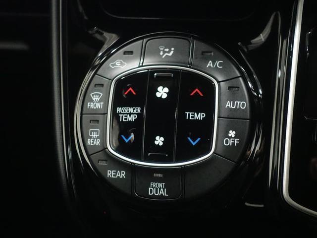 フロントは左右で個別の温度設定が出来ます。オートエアコンなので自動で風量を調整してくれるので快適です!