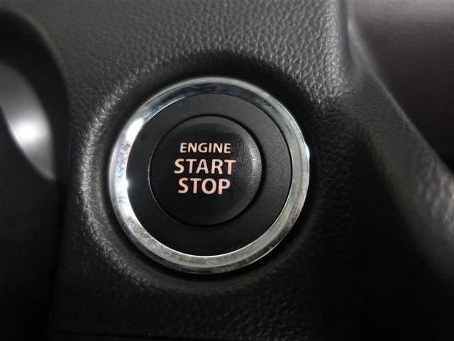 プッシュスタートシステムです。キーをバッグやポケットに入れたままでブレーキを踏んでボタンを押すだけでエンジン始動出来ますよ♪