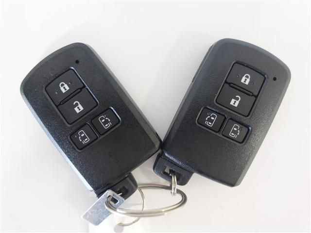 スマートキーを携帯していれば、わざわざ取り出す必要はありません。キーはポケットやカバンに入れたままでOK!ドアの開錠施錠やエンジン始動が出来ます!