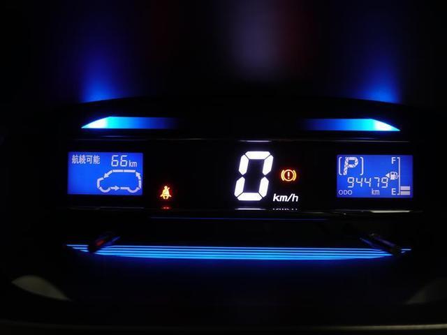 スピードメーターはデジタル表示です。