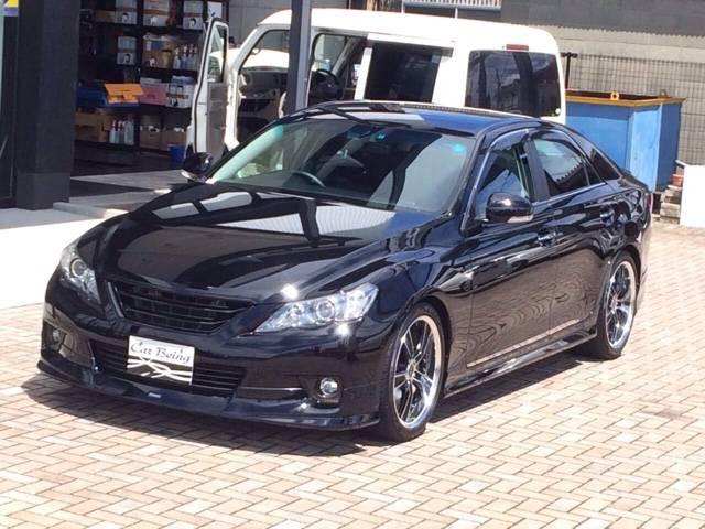 トヨタ マークX 250G Sパッケージリラックスセレ モデリスタ クロカワ
