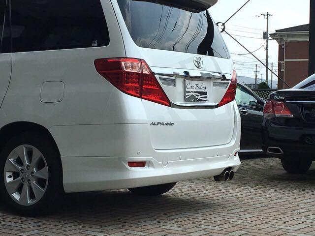 トヨタ アルファード 240G ワンオーナー サンルーフ モデリスタエアロCソナー