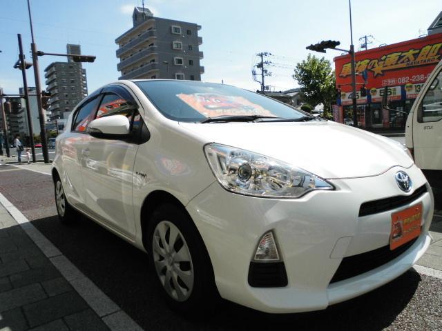 トヨタ アクア S HDDナビ フルセグ バックカメラ ETC オートライト