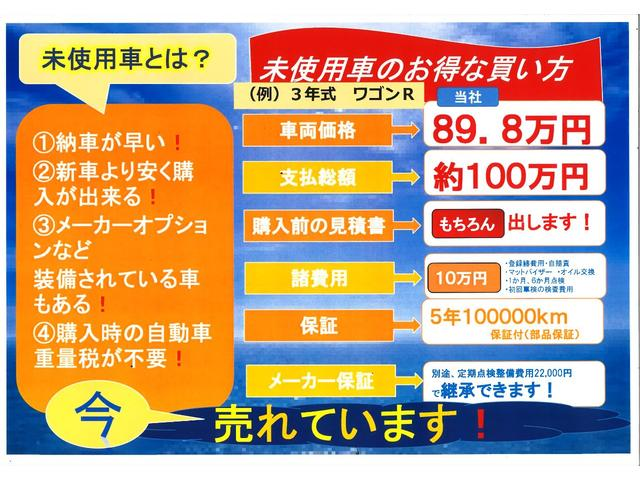 乗出しパックは10万円(オリジナルマット、オリジナルサイドバイザー、オイル交換無料(次回車検まで)、次回車検検査費用、1か月&6か月点検、登録諸費用、自賠責未経過分)になります。