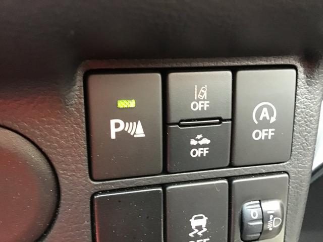 音で障害物との距離を知らせるソナーセンサー機能です!特に後方の確認・コーナーの距離感をしっかり教えてくれます!あると非常に便利な機能です!角を「ガリッ」と行った事がある方・・・この装備で問題解決!