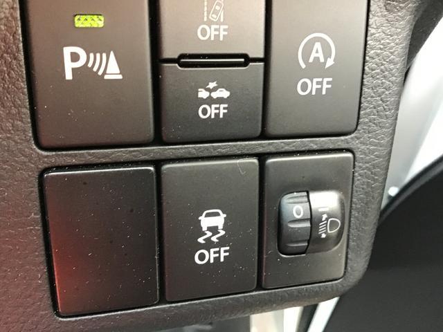 横滑り防止機能付き!突然の路面状況の変化や危険回避のために急激なステアリング操作をした場合などに自動車の車両姿勢が乱れた際、万が一の事態をなし得る限り回避するためにドライバーの運転操作を安心サポート!