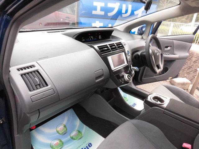 S 地デジTVナビ バックカメラ Bluetooth 禁煙車 全国ハイブリッド24ヶ月スーパーロング保証(6枚目)