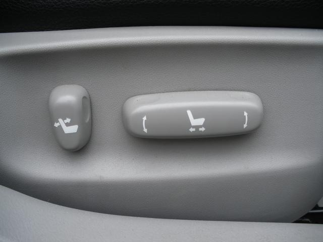 運転席、助手席パワーシート!