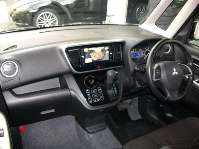 カスタムT e-アシスト ターボ車 アラウンドビュー搭載 ブレーキアシスト 地デジ内蔵ナビ Bluetooth付 ETC スマートキー車 両側電動ライドドア 純正HIDライト GOO鑑定車(15枚目)