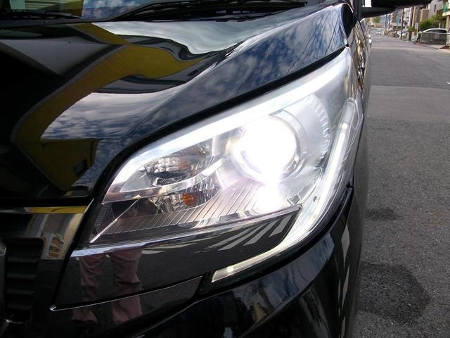 カスタムT e-アシスト ターボ車 アラウンドビュー搭載 ブレーキアシスト 地デジ内蔵ナビ Bluetooth付 ETC スマートキー車 両側電動ライドドア 純正HIDライト GOO鑑定車(28枚目)