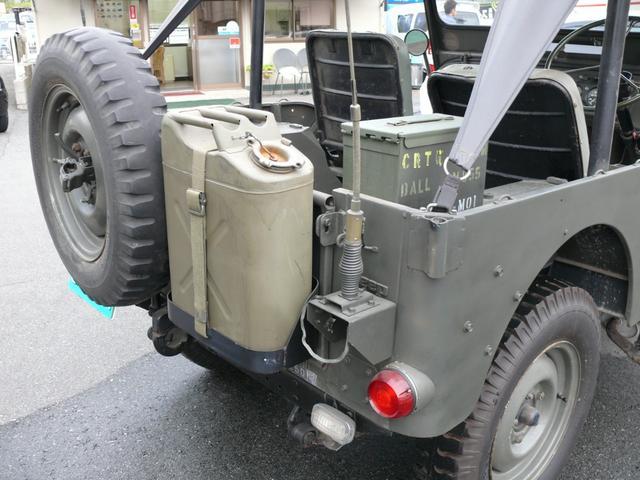 三菱 ジープ ナロー2.2ハリケーンガソリンエンジン1ナンバー登録