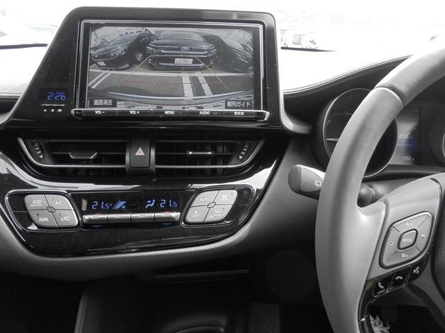 トヨタ C-HR ハイブリッドS 試乗車アップ 9型SDナビTV バックカメラ