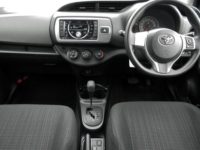 トヨタ ヴィッツ F LEDヘッドランプ・スマートエントリーセット付 1オナ