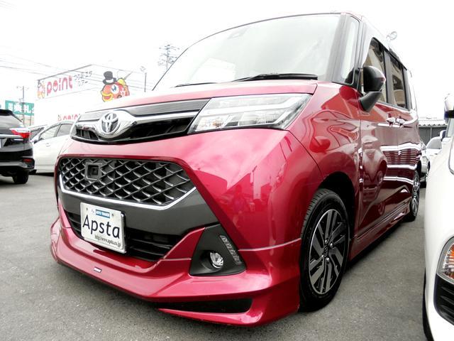 トヨタ タンク カスタムG S モデリスタエアロキット  ナビTV 1オナ