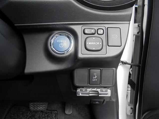 トヨタ アクア S LEDランプ スマートエントリーPKG ナビTV 1オナ