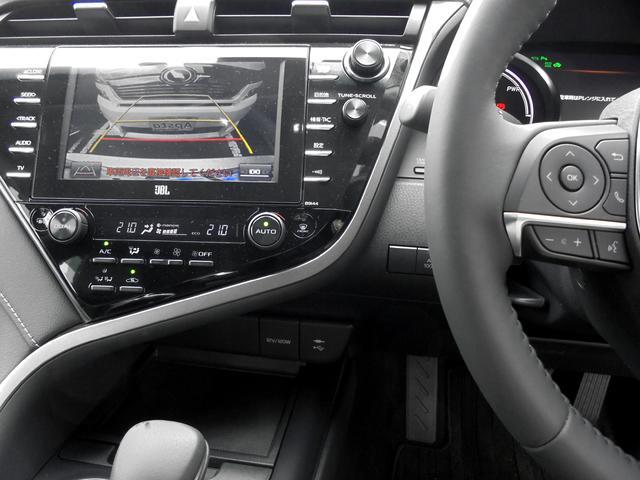 WSレザーパッケージ トヨタセーフティセンス 本革シート メーカー装着フルセグSDナビ JBLプレミアムサウンド インテリジェントクリアランスソナー 前席シートヒーター付パワーシート ビルトインETC 1オーナー車(6枚目)