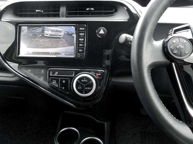 クロスオーバー トヨタセーフティセンス インテリジェントクリアランスソナー 純正ワンセグSDナビ LEDヘッドランプ&スマートエントリー&ナビレディ&ビューティパッケージ 純正アルミ ビルトインETC ワンオーナー車(6枚目)