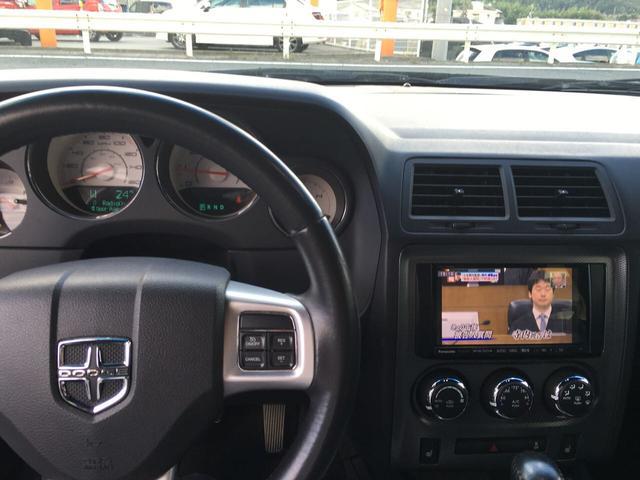 ダッジ ダッジ チャレンジャー R/T ストラーダナビ フルセグTV バックカメラ