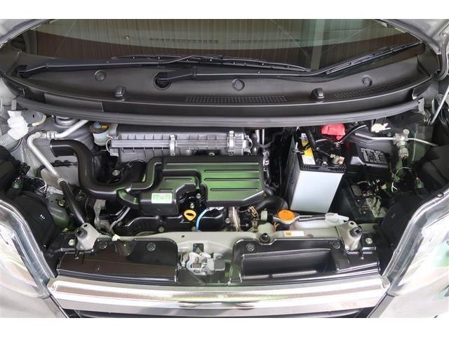 カスタム X バックM TVナビ CDデッキ 盗難防止システム LEDヘッド ETC メモリーナビ キーフリーシステム アルミ ワンセグTV オートエアコン ベンチシート ABS アイストップ AUX Sキー(18枚目)