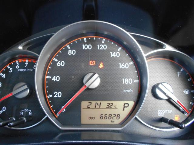 トヨタ ラクティス S メモリーナビ フルセグTV クルーズコントロール
