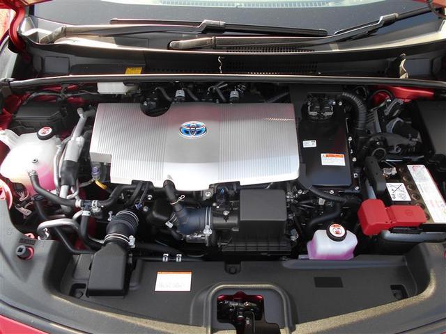 トヨタ プリウスPHV Aレザーパッケージ  LED バックモニター純正アルミ
