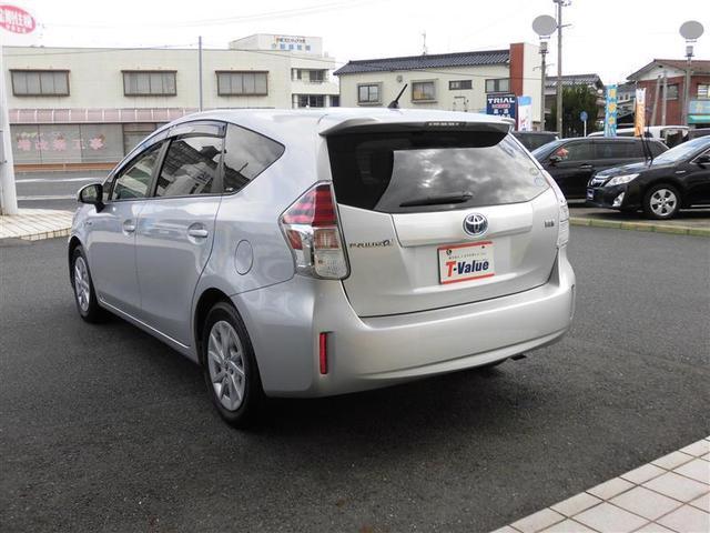 トヨタ プリウスアルファ S イクリプス製メモリーナビフルセグTV LEDヘッドライト