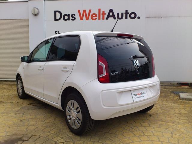 フォルクスワーゲン VW アップ! ムーブ アップ!4ドア ワンオーナー 認定中古車