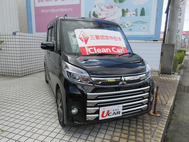 「三菱」「eKスペースカスタム」「コンパクトカー」「山口県」の中古車2