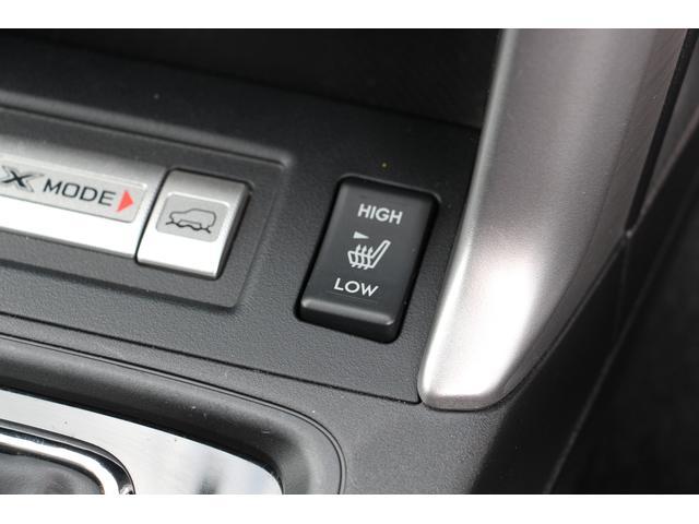 フロントシートヒーター。早朝や寒い季節でも素早くシートを温めます。