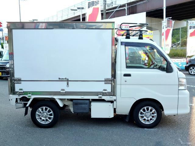 ダイハツ ハイゼットトラック コンビニ型移動販売車 拡声器付 8ナンバー加工車登録