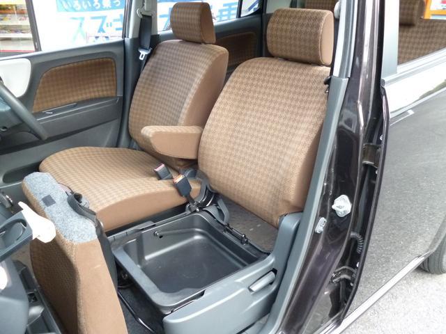◆9.さらに助手席シート下も持ち運び可能なBOX標準装備!