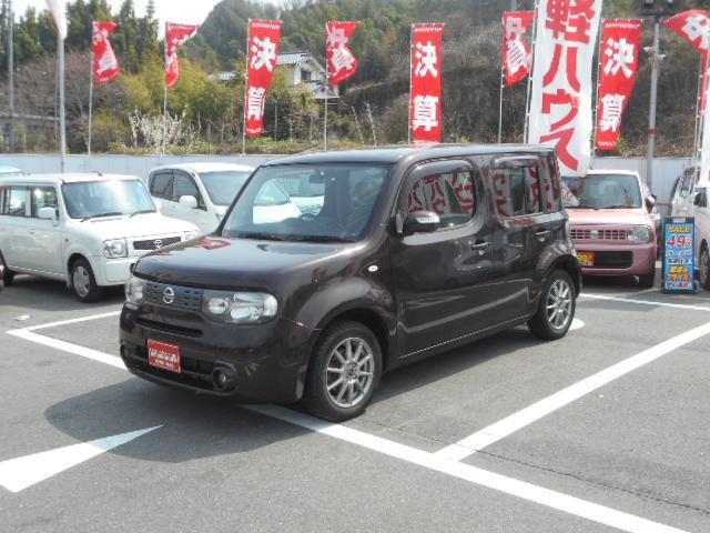 「日産」「キューブ」「ミニバン・ワンボックス」「広島県」の中古車4